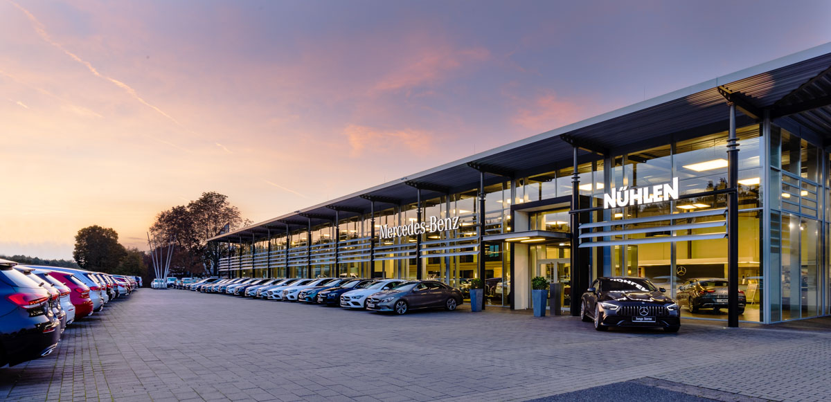 Mercedes Autohaus in Moers